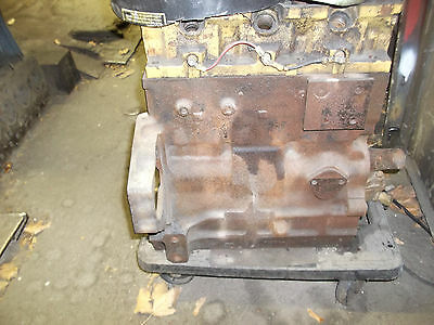 CONTINENTAL 3 CYLINDER TMD 20 DIESEL BARE BLOCK with MAIN CAPS