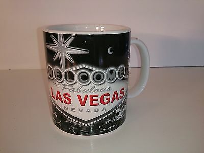 Welcome To Fabulous Las Vegas Nevada Ceramic Coffee Mug Tea Cup Collectible