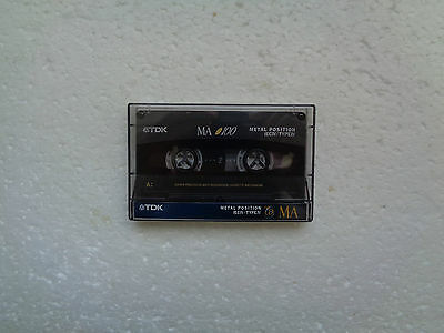 Vintage Audio Cassette TDK MA 100 From 1994 - Fantastic Condition !!
