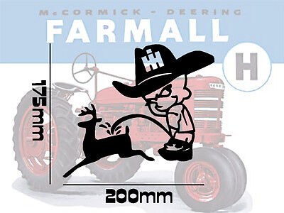 IH International Harvester Farmal Tractor Vinyl Decals Stickers