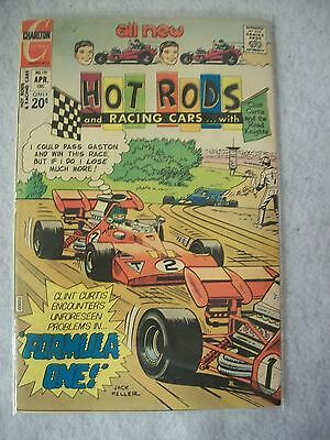 Hot Rods & Racing Cars #119 (Charlton, April 73) VF-