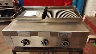 3 Burner Gas Char grill Charcoal Grill  BBQ Grill  Heavy Duty Natural Or LPG Gas