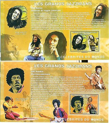 JAZZ PLAYERS - CONGO 2006 blocks perforated