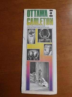 Ottawa Carletoncanada Visitors Map And Attraction Guide Points Of Interest