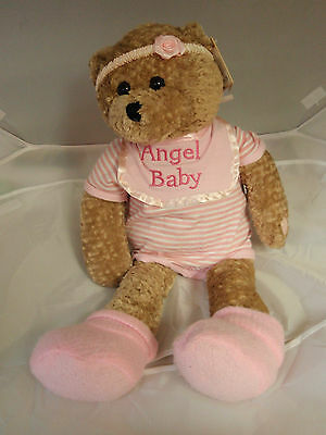 PBC Angel Baby girl animated musical NWT free batteries free shipping