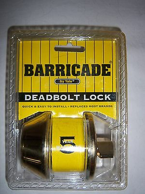 Yale Barricade Deadbolt Lock Set • CAD $20.13
