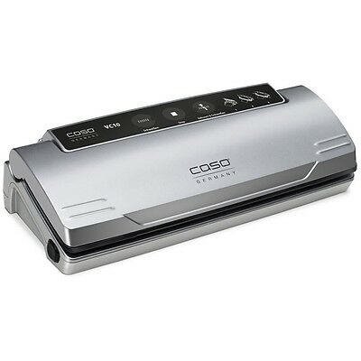 Caso VC 10 Vacuum Sealer Silver Long Weld 220, 230, 240 Volts GENUINE NEW