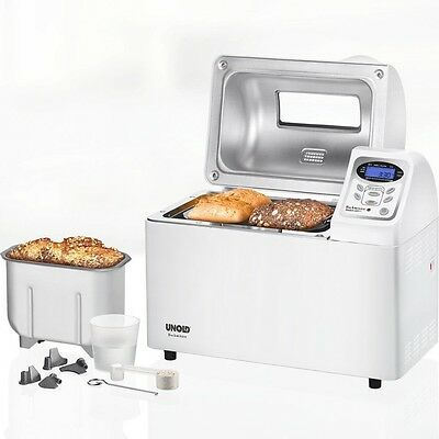 Unold 68511 Backmeister Extra Bread Maker, 10 Baking Program 220, 230, 240 Volts