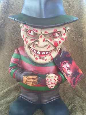 Halloween NIGHTMARE ON THE ELM STREET FREDDY KRUEGER LAWN GNOME Haunted House