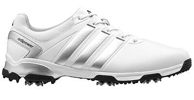 Adidas Adipower Tr Golf Shoes - White/silver/black - Multiple Sizes