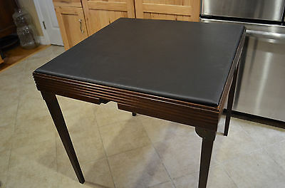 1932 Hammond H4 Electric Card Dealing Bridge Table - Works!