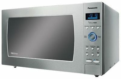 Panasonic 1100W 44L Stainless Steel Inverter Microwave Oven Nn-Se792S