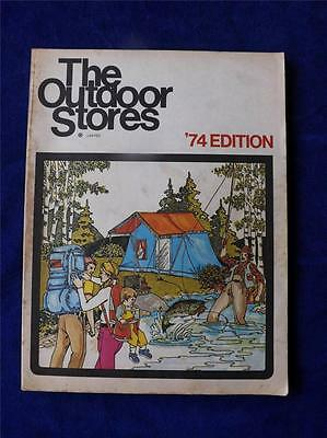 The Outdoor Stores Limited Catalogue Vintage 1974 Canada Fishing Hunting Camping