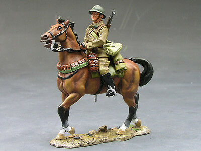 King (and) & Country FOB014 - French Cavalry Trooper (Mounted) - Retired