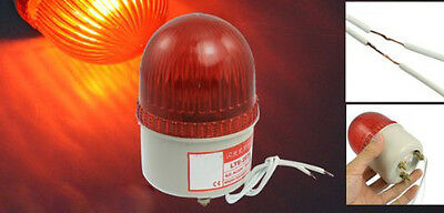 AC 220V 15W Red Light Industrial Signal Tower Flash Warning Lamp FP7