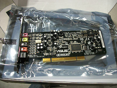 ASUS Xonar DG PCI Sound Card Complete with Accessories 5.1 Refurbished Retail