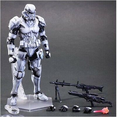 "2016 new Play Arts Kai Square Enix Star Wars Variant Storm Trooper 10"" Figure"
