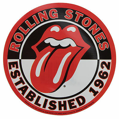 Rolling Stones Est. 1962 Vinyl Sticker New & Official Band Merchandise Ps6448C