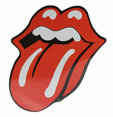 Rolling Stones Tongue Vinyl Sticker New & Official Band Merchandise Ps0425C