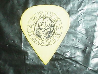 WHITE ZOMBIE Sean Yseult Ghoul & Signature 90's RaRe Concert Tour GUITAR PICK