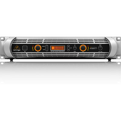 Behringer iNUKE NU3000DSP Stereo High Density Class-D DSP USB Power Amplifier