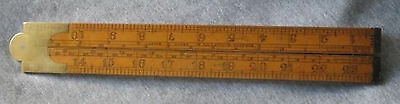 antik Zollstock John ASTON Birmingham I.ROUTLEDGE Engineer BOLTON slide rule
