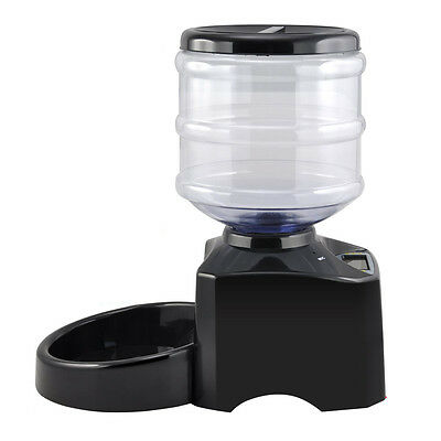 5L Automatic Pet Feeder For Cat Dog Puppy Auto Dispenser Bowl FP7
