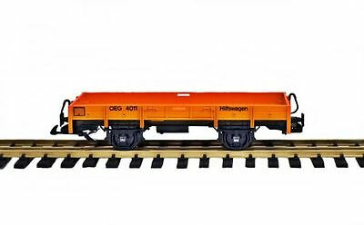 Zenner Low-sided wagon Construction wagon,Conversion of a LGB Car scale G