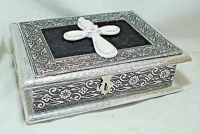 Silver Colored Reliquary Display Box