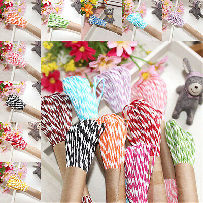 1Pc 10m Wrap Handmade Cotton Rope Ribbon Twine Cord Party Gift Package String