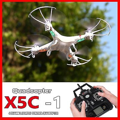 X5C-1 Explorers 2.4Ghz 4CH 6Axis RC Quadcopter Drone UFO UAV RTF Fly 3D Rolling