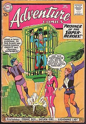 Adventure Comics #267 G-G+ 2.25 Superboy 2nd Legion Of Super-Heroes!!