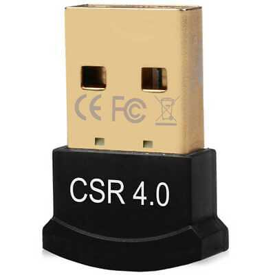 Cle Adaptateur Dongle Mini Bluetooth V4.0 USB Adapter pour Laptop PC Notebook