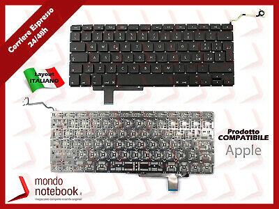 "Tastiera keyboard Layout Italiano Macbook Pro 17"" A1297"