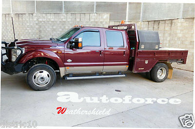 Ford F250 F350 F450 2 Door 1999-2015 Weather Shield Weathershield Window Visor
