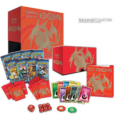 125-card XY12 Evolutions Charizard-Art Elite Trainer Box Pokemon | 8 Boosters ++