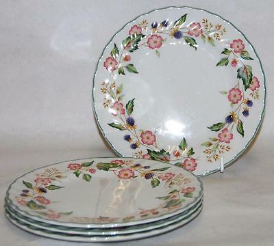 British Home Stores (BHS) Set of Four Small Plates - Victorian Rose