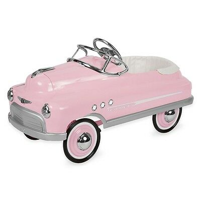 New Retro Pink Comet Pedal Cars By Airflow Collectibles Inc. Authorized Dealer