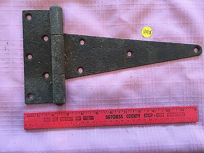 Vintage Farm Barn Gate Strap Hinge Door Hardware Old Rustic Textured Primitive