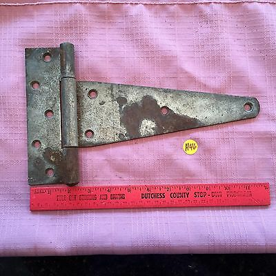 Vintage Farm Barn Gate Strap Hinge Stall Door Hardware Old Rustic Steampunk