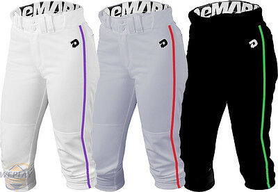 DeMarini Deluxe Adult Womens Fastpitch Softball Pants w/ Custom Piping WTC7605CP