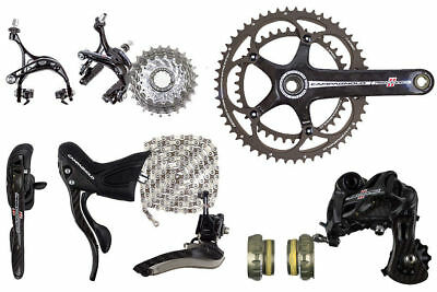 2015 Campagnolo Record 11 speed Group Set (With 2014 Cranks)