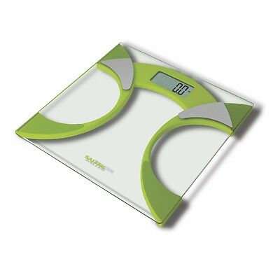 Salter Bathroom Scales Ultra Slim Glass Electronic Digital Analyser Weight Scale