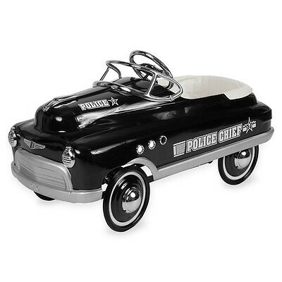New Retro Comet Police Pedal Cars By Airflow Collectibles Inc. Authorized Dealer