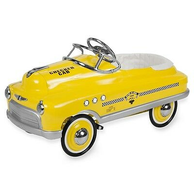 New Yellow Taxi Cab Comet Pedal Cars By Airflow Collectibles Authorized Dealer