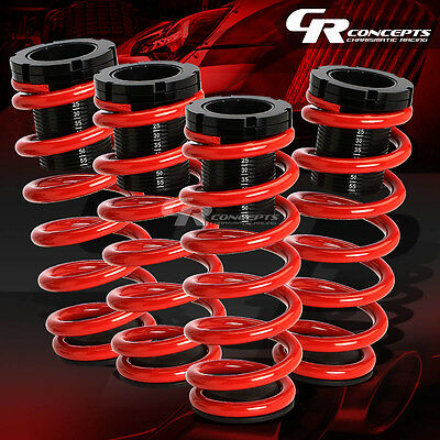 "Lowering 1-3""adjustable Scale Coilover+Red Springs For 85-98 Vw Golf/jetta"