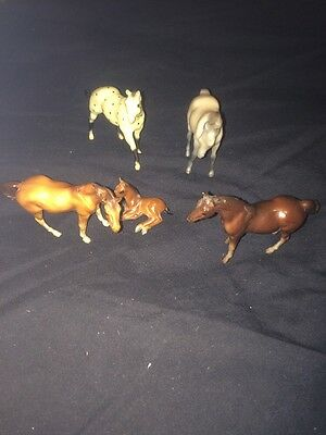 Vintage 1975 Small BREYER HORSES
