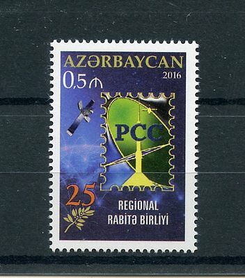 Azerbaijan 2016 MNH RCC Regional Commonwealth in Communications 1v Set Stamps