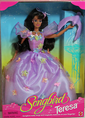 Songbird Teresa Barbie 1995, NRFB Mint w/LN box - 14484