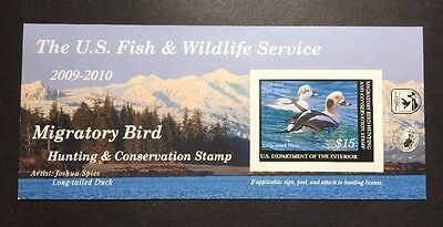 #RW76A 2009 - 2010 - US Federal Duck Stamp - Post Office FRESH